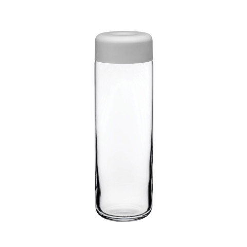 Finesse Clear Jug With Grey Cover | Gracious Style