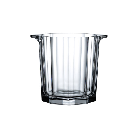 Hemingway Clear Ice Bucket | Gracious Style