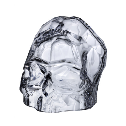 Memento Mori Clear Faceted Skull Large | Gracious Style