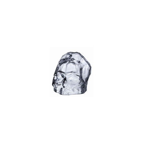 Memento Mori Clear Faceted Skull Small | Gracious Style
