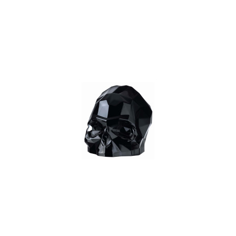 Memento Mori Black Faceted Skull Small | Gracious Style
