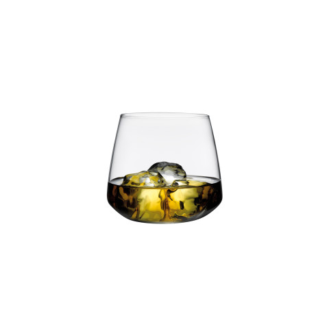 Mirage Clear Whisky Glass, Set Of 4 | Gracious Style