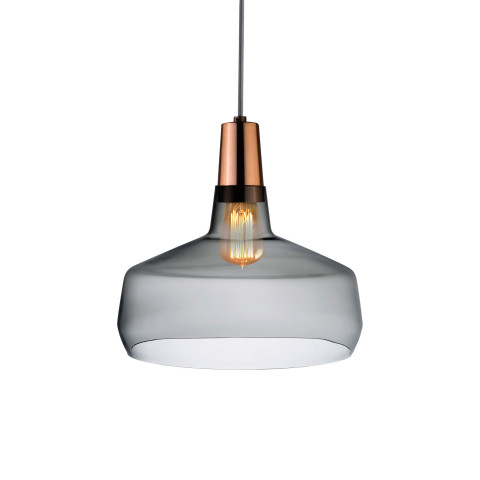 Mono Smoke With Copper Pendant | Gracious Style