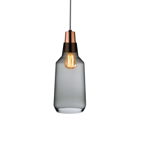 Mono Smoke With Copper Pendant | Gracious Style