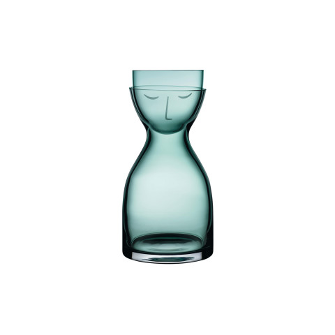 Mr. & Mrs. Green Night Bedside and Water Glass Set | Gracious Style