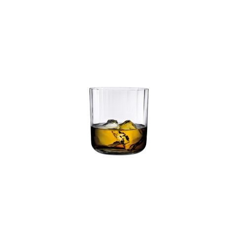 Neo Clear Whisky Glass, Set Of 2 | Gracious Style