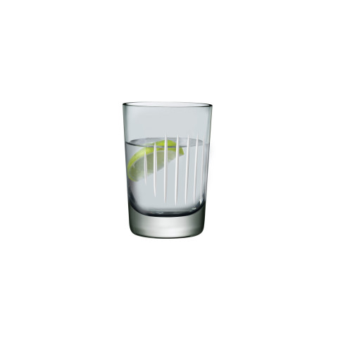 Parrot Smoke & White Line Tumbler, Set Of 2 | Gracious Style