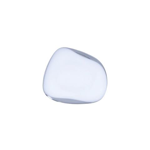 Pebble Hanger/Knob Opal White Large | Gracious Style