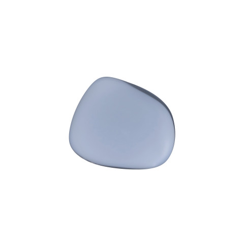 Pebble Hanger/Knob Opal Grey Large | Gracious Style