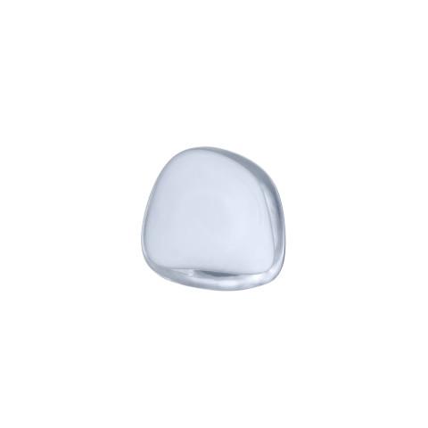 Pebble Hanger/Knob Opal White Medium | Gracious Style