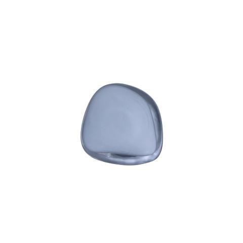 Pebble Hanger/Knob Opal Grey Medium   Gracious Style