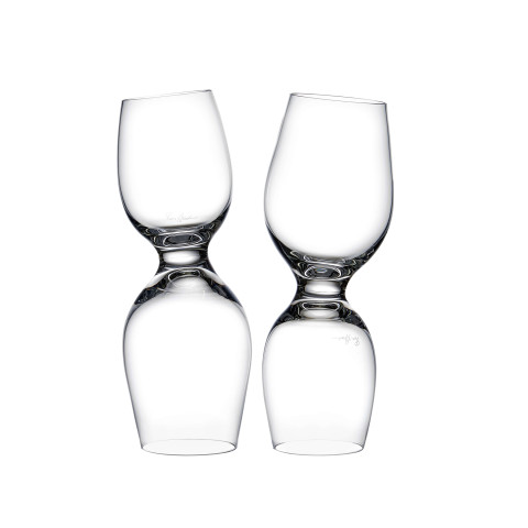 Red Or White Clear Wine Glass, Set Of 2 | Gracious Style