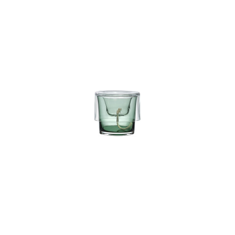 Roots Clear Top, Green Bottom Herb Pot | Gracious Style