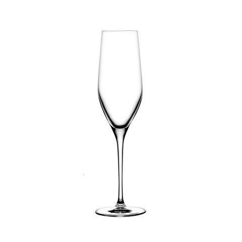 Vinifera Clear Champagne Glass , Set Of 2 | Gracious Style