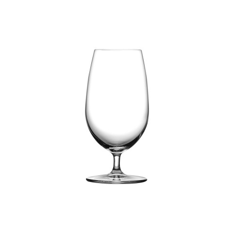 Vintage Clear Beer Glass, Set Of 2 | Gracious Style