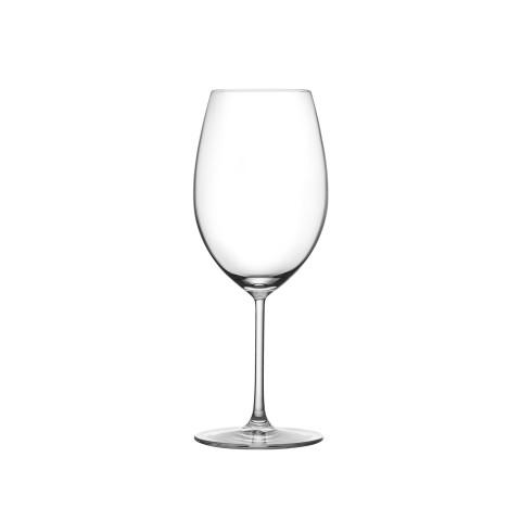 Vintage Clear Bordeaux Glass, Set Of 2 | Gracious Style