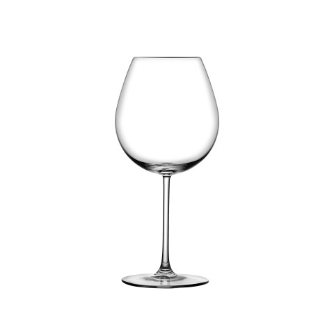 Vintage Clear Bourgogne Glass, Set Of 2 | Gracious Style