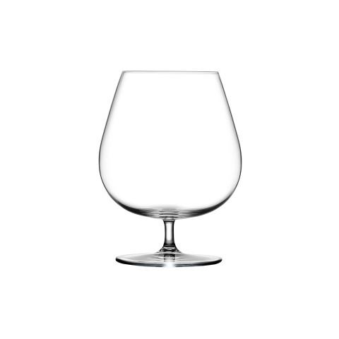 Vintage Clear Cognac Glass, Set Of 2   Gracious Style