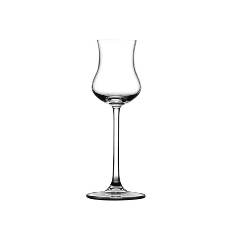 Vintage Clear Grappa Glass, Set Of 2 | Gracious Style