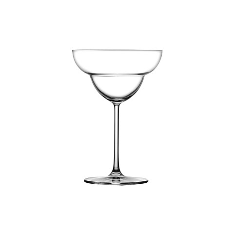 Vintage Clear Margarita Glass, Set Of 2 | Gracious Style