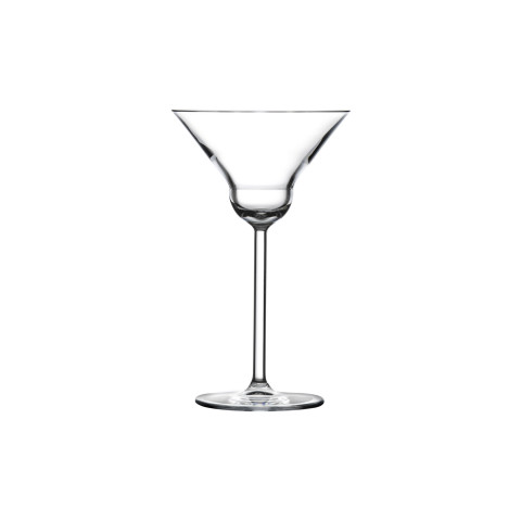 Vintage Clear Martini Glass, Set Of 2 | Gracious Style