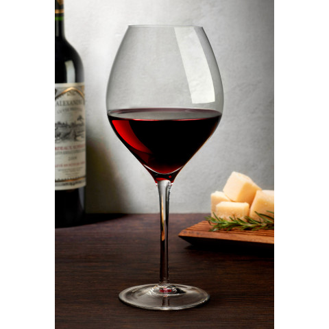 Caprice Clear Red Wine Glass, Set Of 2 | Gracious Style