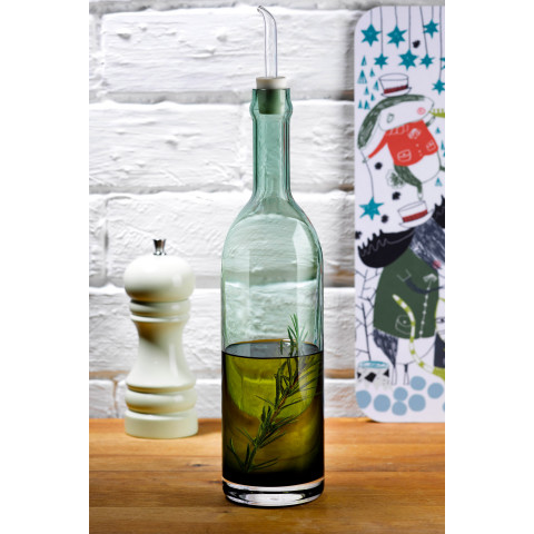 Extra Green Olive Oil Bottle | Gracious Style