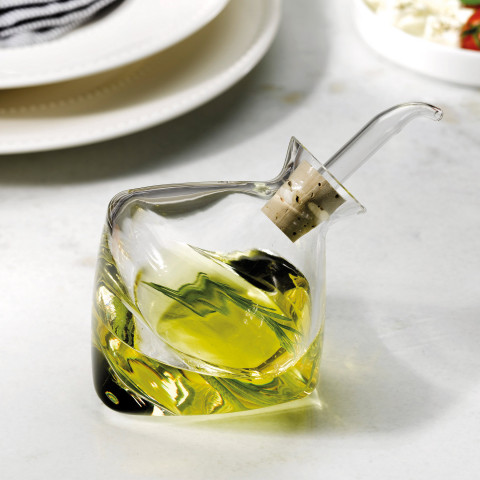 Food Borosilicate Cover Oil And Vinegar | Gracious Style