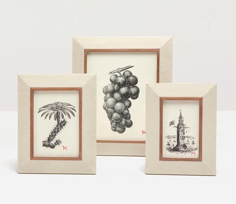 Pigeon Poodle Dorchester Ivory Picture Frames Gracious Style