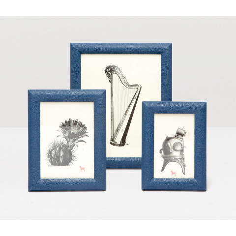 Pigeon & Poodle Oxford Navy Picture Frames | Gracious Style