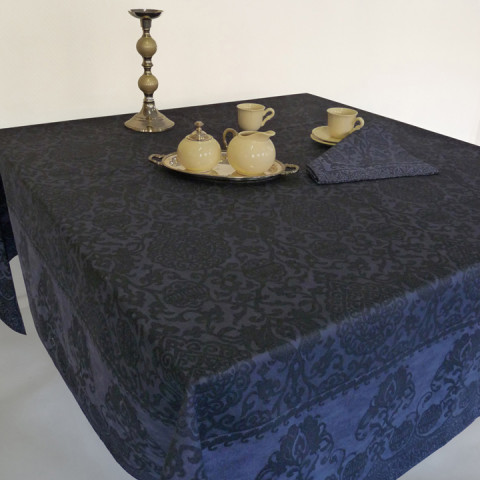 Grand Soir Col. 22 Navy Blue 16 x 20 in Placemat | Gracious Style