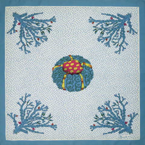 Aquarius Col.1 Original 21 x 21 in Napkin | Gracious Style