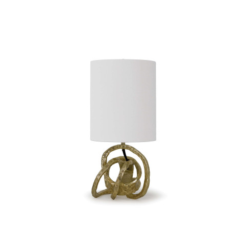 Mini Knot Table Lamp, Soft Gold | Gracious Style