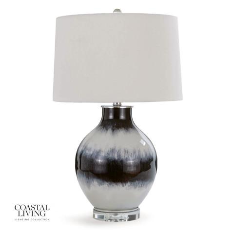 Indigo Glass Table Lamp | Gracious Style