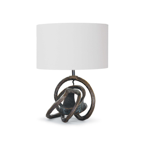 Knot Table Lamp, Bronze | Gracious Style