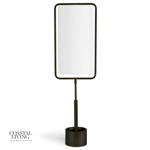 Geo Rectangle Table Lamp, Oil Rubbed Bronze | Gracious Style