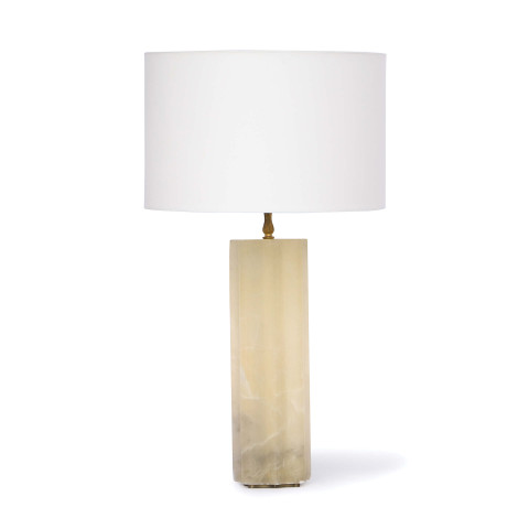 Isadora Alabaster Table Lamp | Gracious Style
