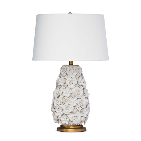 Alice Porcelain Flower Table Lamp | Gracious Style