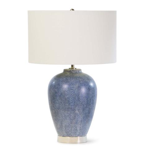 Presley Table Lamp, Indigo   Gracious Style