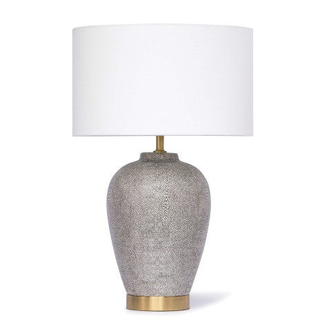 Presley Table Lamp, Grey | Gracious Style