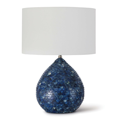 Sirene Table Lamp, Blue | Gracious Style