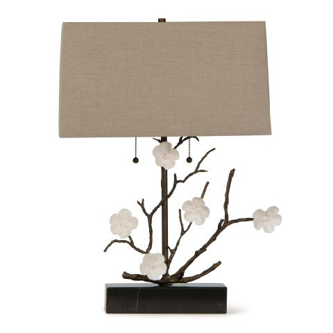Cherise Horizontal Table Lamp, Oil Rubbed Bronze   Gracious Style