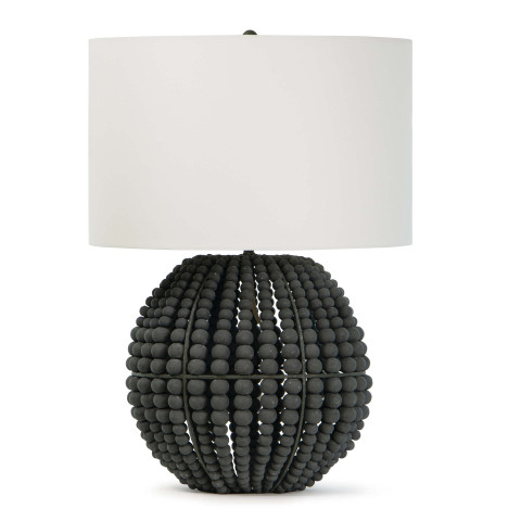 Tropez Table Lamp, Grey | Gracious Style