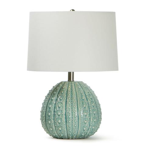 Sanibel Ceramic Table Lamp, Sea Foam | Gracious Style