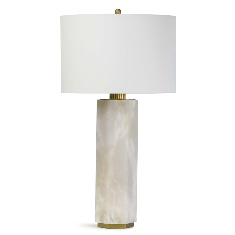 Gear Alabaster Table Lamp   Gracious Style