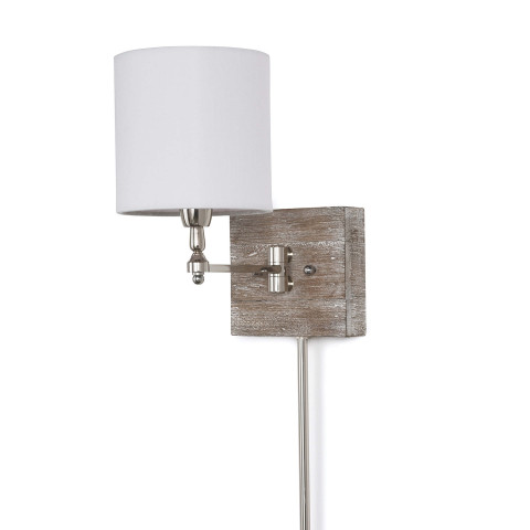 Swing Arm Pinup Sconce   Gracious Style