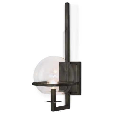 Saturn Sconce, Oil Rubbed Bronze   Gracious Style