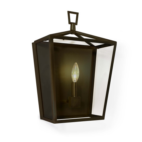 Camden Lantern Sconce, Oil Rubbed Bronze | Gracious Style