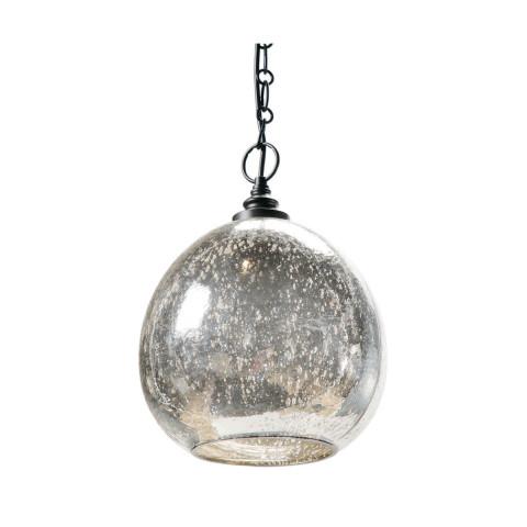 Glass Float Pendant, Antique Mercury | Gracious Style
