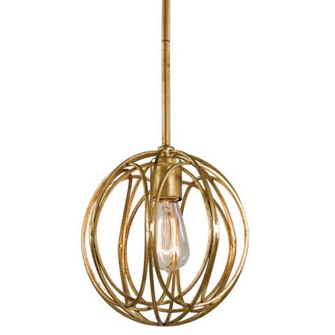 Ofelia Pendant Small, Gold Leaf | Gracious Style